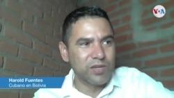 Harold Fuentes cubano en Bolivia