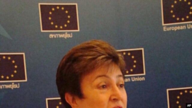 Kristalina Georgieva, EU Commissioner for International Cooperation and Humanitarian Aid
