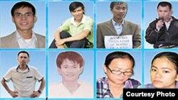 Các nhà hoạt động trẻ bị gán tội và tuyên án