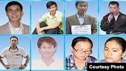 14 nhà hoạt động Công giáo trẻ bị cáo buộc 'thực hiện các hành động nhằm lật đổ chính quyền' (ảnh: thanhnienconggiao).