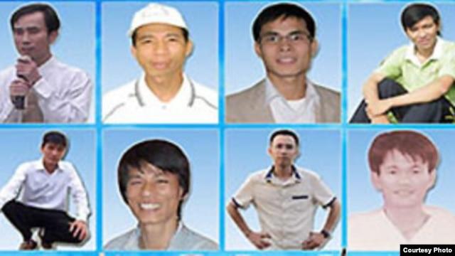 14 thanh niên Công giáo và Tin Lành bị cáo buộc 'thực hiện các hành động nhằm lật đổ chính quyền' (ảnh: thanhnienconggiao)