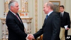 Reks Tillerson Vladimir Putin bilan, 2012