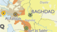 Map detail: Baghdad area