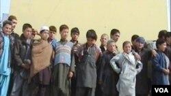 اطفالی که برای حملات انتحاری قاچاق می شدند