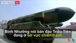 Bắc Triều Tiên tuyên bố sẵn sàng hành động