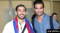 مسعود شجاعی و احسان حاج صفی