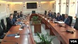 Sastanak kosovskog pregovaračkog tima