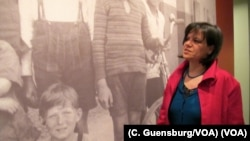 Zsuzsanna Kozak of Budapest's Visual World Foundation at the U.S. Holocaust Memorial Museum in Washington, D.C.
