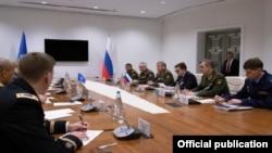 Bakıda NATO-Rusiya araslında hərbi hrəbi rəhbərlərin görüşü olub.