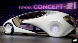خودروی جدید محصول شرکت تویوتا