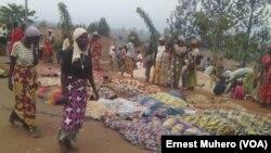 Refugiados do Burundi mortos pelas forças de segurança, 16 de Setembro, 2017. (VOA/Ernest Muhero)