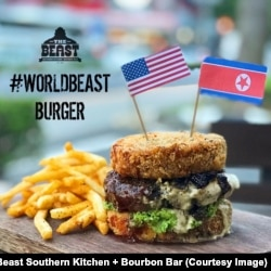 Worldbeast burger