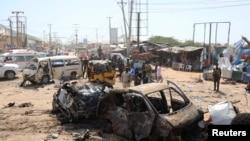 Ahabereye igitero c'iterabwoba i Mogadishu, muri Somaliya kw'itariki 28/12/2019.