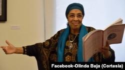 Olinda Beja. Escritora, São Tomé e Príncipe