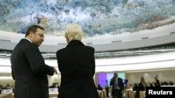 스위스 제네바에서 열린 유엔 인권이사회 모습. (자료사진)