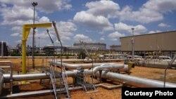 Các đường ống dẫn dầu ở Nam Sudan