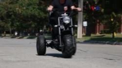 Triciclo todoterreno para discapacitados