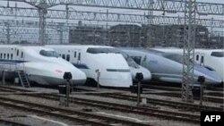Kereta super cepat Shinkansen di Jepang. (Foto: Dok)