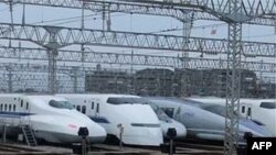 Xe lửa siêu tốc Shinkansen của Nhật Bản