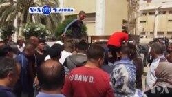 VOA60 Afirka: Wani Kwale-Kwale Mai Dauke Da 'Yan Gudun Hijira Ya Nutse A Tekun Tunisia