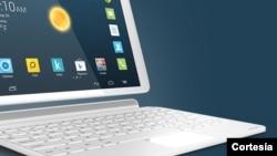 La Alcatel Onetouch POP 10 convertible, podría ahorrarte dinero al tener dos dispositivos, tableta y laptop, en uno solo.