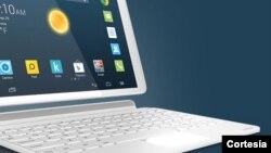 La novedosas tableta de Alcatel Onetouch POP 10, podría ahorrar dinero a los consumidores al convertirse en laptop, de ser necesario.