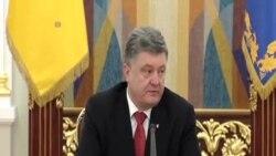 波羅申科:烏克蘭戰鬥逐步減少