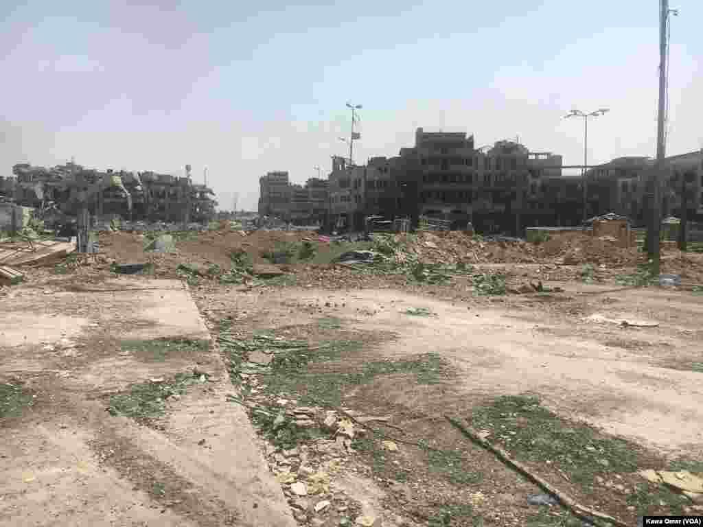 Musul'da çatışmalar sonrası sokaklar