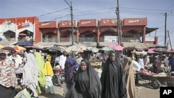 Market in Maiduguri, Nigeria (file photo)