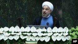 伊朗新总统穆斯林教士鲁哈尼