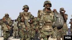 肯尼亞部隊在索馬里