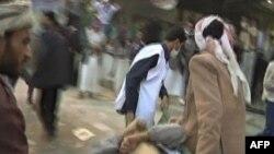 Жертвы протестов в Сане