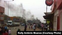 Greve de taxistas em Luanda levanta onda de violência