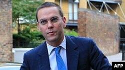 Директор News Corporation в Європі та Азії , Джеймс Мердок.