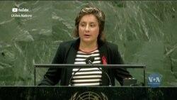 Українка Яна Панфілова виступила на спеціальній сесії Генасамблеї ООН з питань протидії ВІЛ/СНІД. Відео