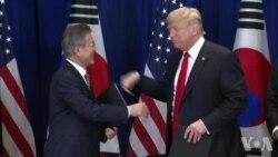美韩两国总统考虑重启陷入僵局的朝核谈判