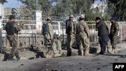 حمله انتحاری به پايگاه نظامی آمريکا در افغانستان