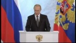 Tổng thống Putin bênh vực việc sáp nhập Crimea
