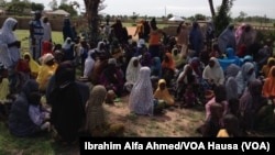 Yawancin 'yan gudun jihiran daga jihohin Borno da Yobe suka fito yayin da wasu da dama sun fito ne daga wasu sassan Adamawa kamar daga kananan hukumomin Madagali da Michika, Yuni 3, 2014.