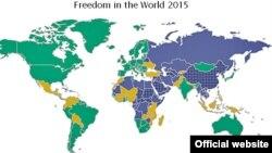 Freedom House က ထုတ္ျပန္တဲ့ ၂၀၁၅ ခုႏွစ္အတြက္ အစီရင္ခံစာ။