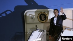 美國總統奧巴馬抵達墨西哥參加20國峰會