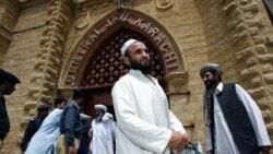 معترضان پاکستانی در اعتراض به کشتن غیرنظامیان، جاده مورد استفاده ناتو را مسدود کردند