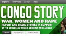VOA / CitizenGlobal website aims at online conversation about the rape crisis in Democratic Republic of Congo.