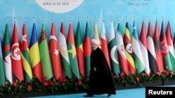 نشست اختتامیه سازمان همکاری بدون حضور حسن روحانی رئیسجمهور ایران و محمد جواد ظریف برگزار شد.