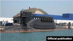 中國晉級潛艇旨在潛射核導彈