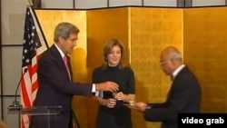 Kerolajn Kenedi tokom jučerašnjeg polaganja zakletve na položaj ambasadora u Japanu