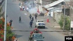 Imyiyerekano yapfiriyemwo urwaruka 40 rwo mw'ishirahamwe LUCHA i Goma, itariki 31/07/2017