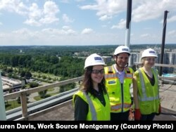 RISE students got a bird's-eye view of jobs in the construction industry.