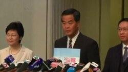 香港政改无视抗议者诉求