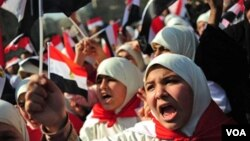 """Situs VOA meraih penghargaan dalam kategori """"Liputan Topik, Situs Besar"""" untuk liputannya mengenai gerakan Kebangkitan Arab atau Arab Spring (foto: dok)."""